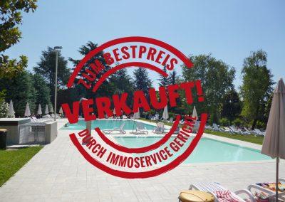 Verkauft: schöne 2-Zimmer Ferienwohnung in attraktiver Anlage in Sirmione/Gardasee // SG-206