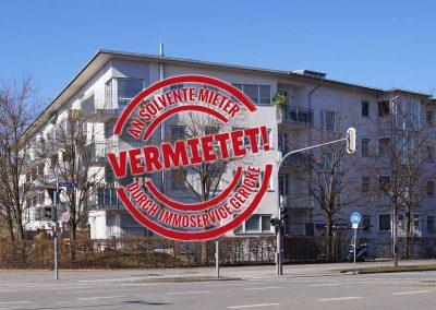 Vermietet: Schöne, ruhige 2-Zi-Wohnung mit direktem U-Bahn-Anschluss in München Moosach // SG-220