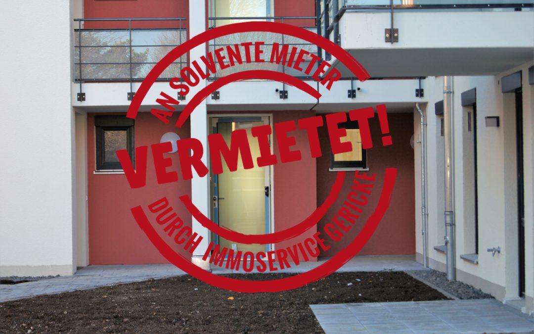 Vermietet! Wunderschön aufgeteilte 2-Zi-Wohnung im Herzen Moosachs – Neubau – Erstbezug // SG-227