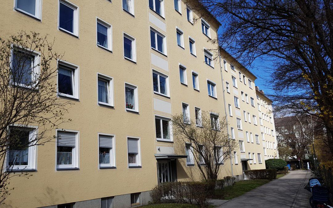 Gut geschnittene, 3-Zimmer-Wohnung in München-Milbertshofen