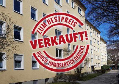 Verkauft: Gut geschnittene, 3-Zimmer-Wohnung in München-Milbertshofen