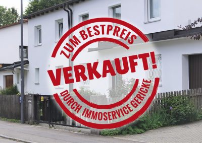 Verkauft: Ruhig gelegene Doppelhaushälfte mit großem Garten in München Aubing