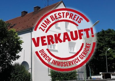 Verkauft: 6 Familienhaus eingebettet in 2 Grünanlagen in München Moosach
